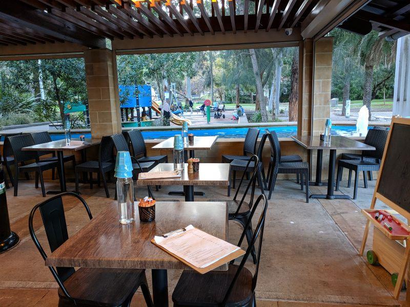 Sotto on Ryde Cafe Ryde Park