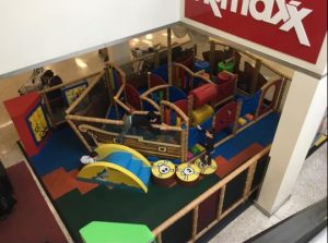 Castle Mall play area