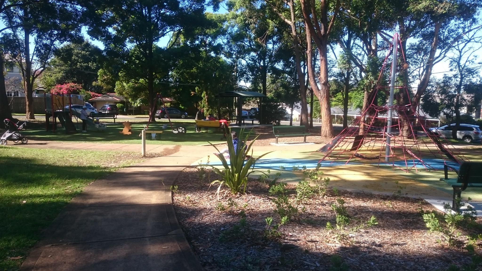 Landscape Garden Epping : Loftus square park epping parraparents