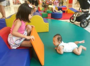 Shopping Centres with play areas