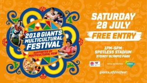 AFL Multicultural Festival and FREE ticket to GWS Giants Match | Sydney Olympic Park @ Spotless Stadium | Olympic Park | New South Wales | Australia