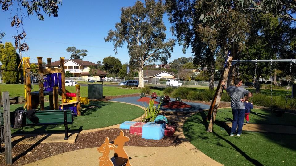 John Berger Reserve Neighbourhood Playground Winston