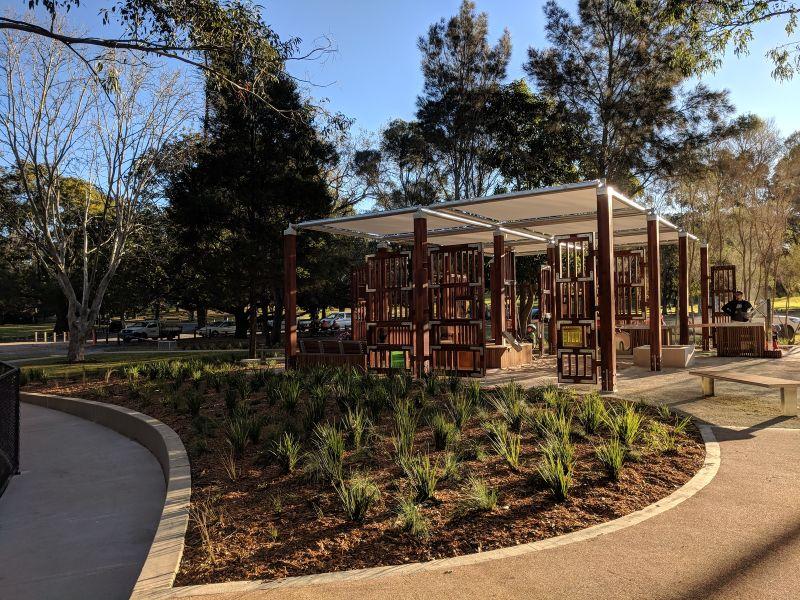 Pavilion Flat Playground Parramatta Park