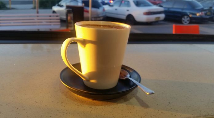 Coffee at Portico Chicken