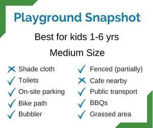 Harold Moon Playground in Mona Park Snapshot