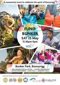 FREE Fun@Bunker | Bonnyrigg @ Bunker Park, Bonnyrigg | Bonnyrigg | New South Wales | Australia