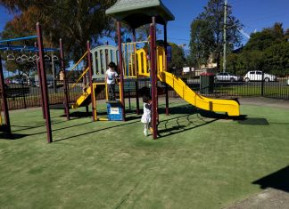 w.r. musto playground parramatta fenced best playgrounds in parramatta