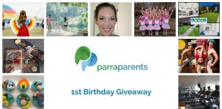 ParraParents 1st Birthday Giveaway