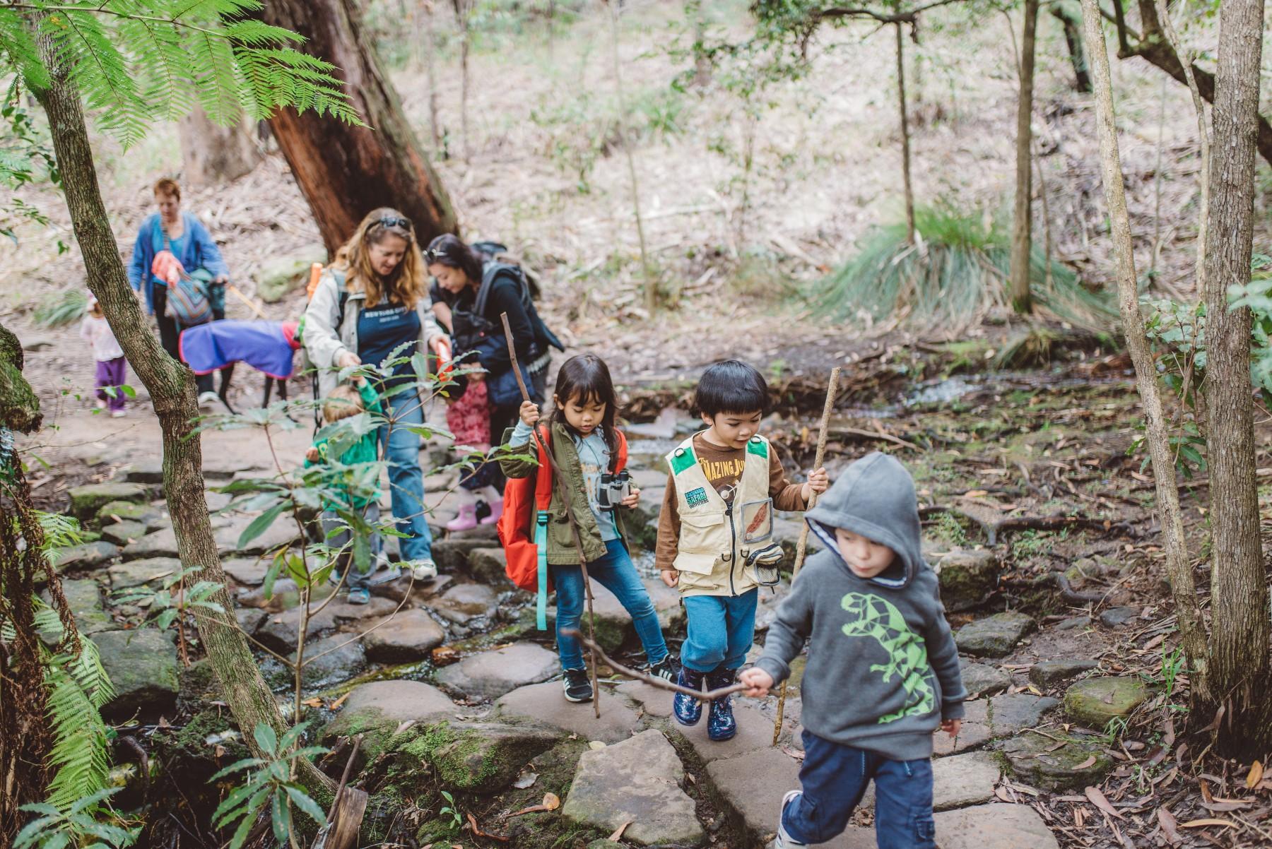 kid friendly bushwalks spring school holidays guide