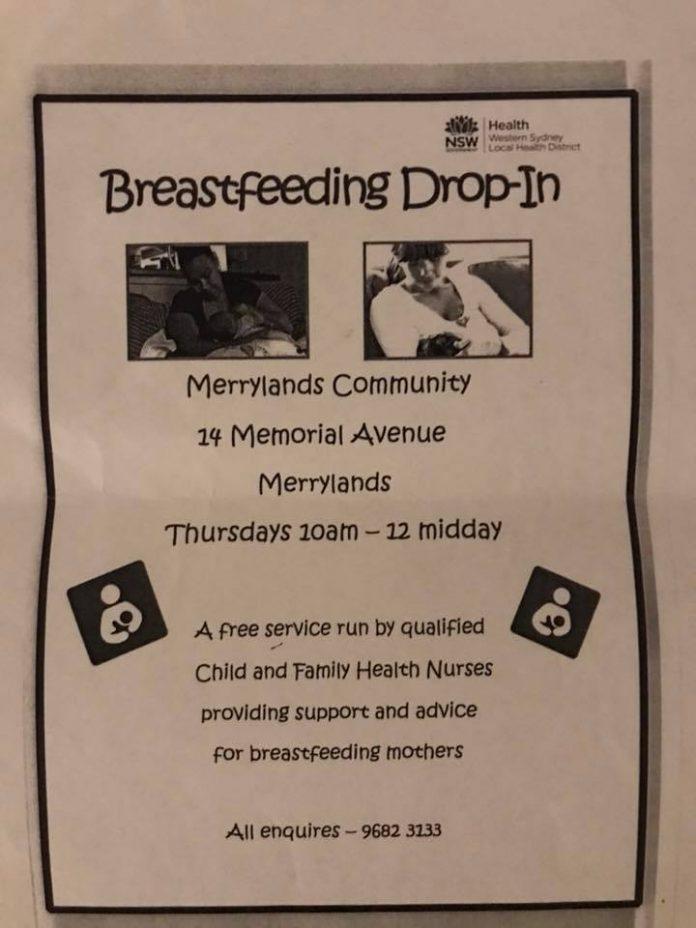 breastfeeding drop-in clinic