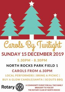 Carols By Twilight | Carlingford @ North Rocks Park Field 1 | Carlingford | New South Wales | Australia