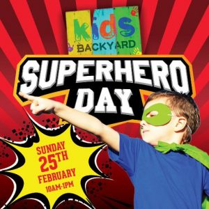 Superhero Day | NBC Sports Club @ NBC Sports Club, Northmead | Northmead | New South Wales | Australia