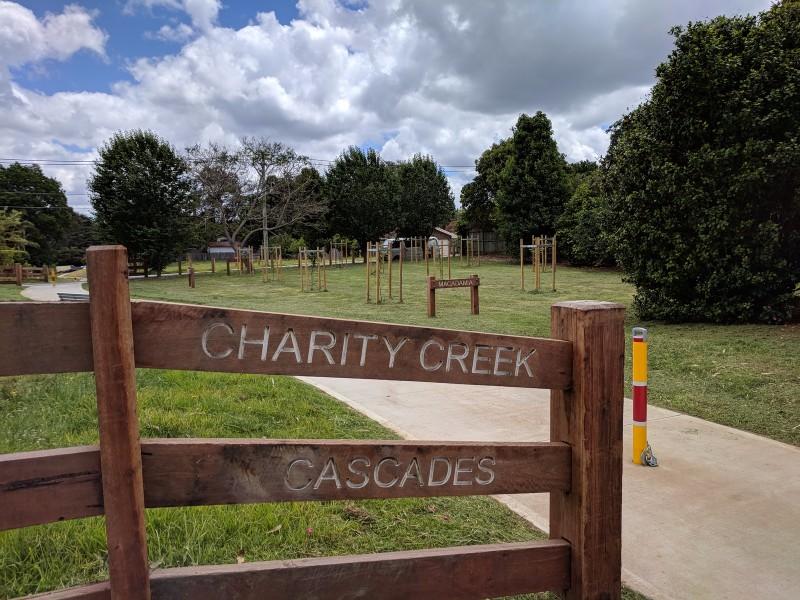 Charity Creek Cascades
