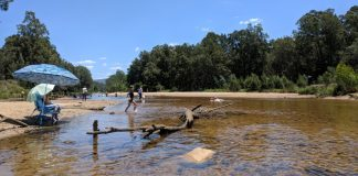 Yarramundi Reserve summer water fun