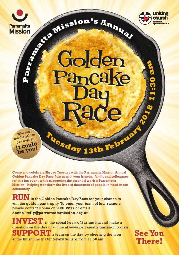 Golden Pancake Day Race