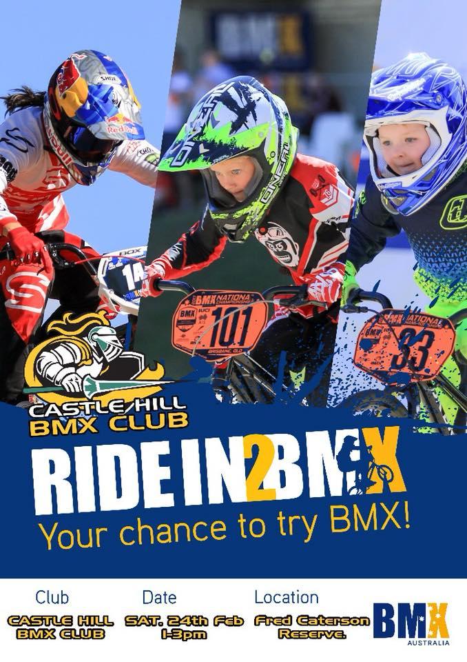 Ride in 2 BMX Day | Castle Hill @ Castle Hill BMX Club | Castle Hill | New South Wales | Australia