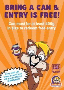 Can Day - Free Entry | Chipmunks Bankstown @ Chipmunks Bankstown | Punchbowl | New South Wales | Australia