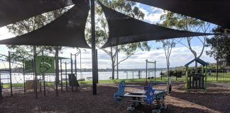 Playgrounds along parramatta river