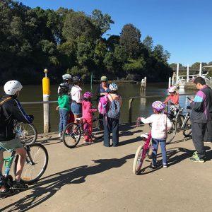 Fish Ladder Ride | Parramatta River Foreshore @ Barry Wilde Bridge Fountain, Parramatta River | Australia