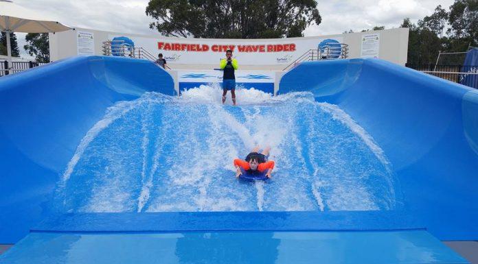 Aquatopia Fairfield City Council Prairiewood Leisure Centre