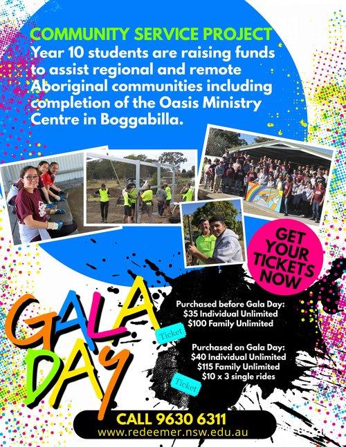 Gala Day Redeemer Baptist School