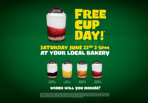 Free Cup Day at The Cheesecake Shop @ All Cheesecake Shops