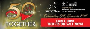 Gang Show (7:30pm) - 50 Years Together | Riverside Theatres @ Riverside Theatres | Parramatta | New South Wales | Australia