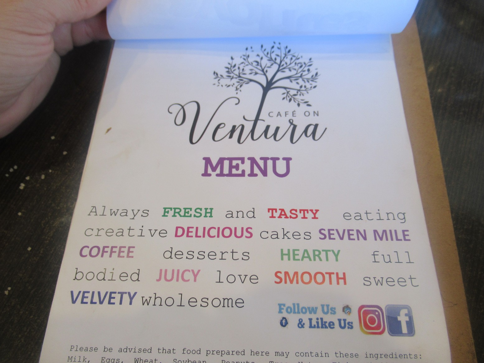 Cafe on Ventura Northmead