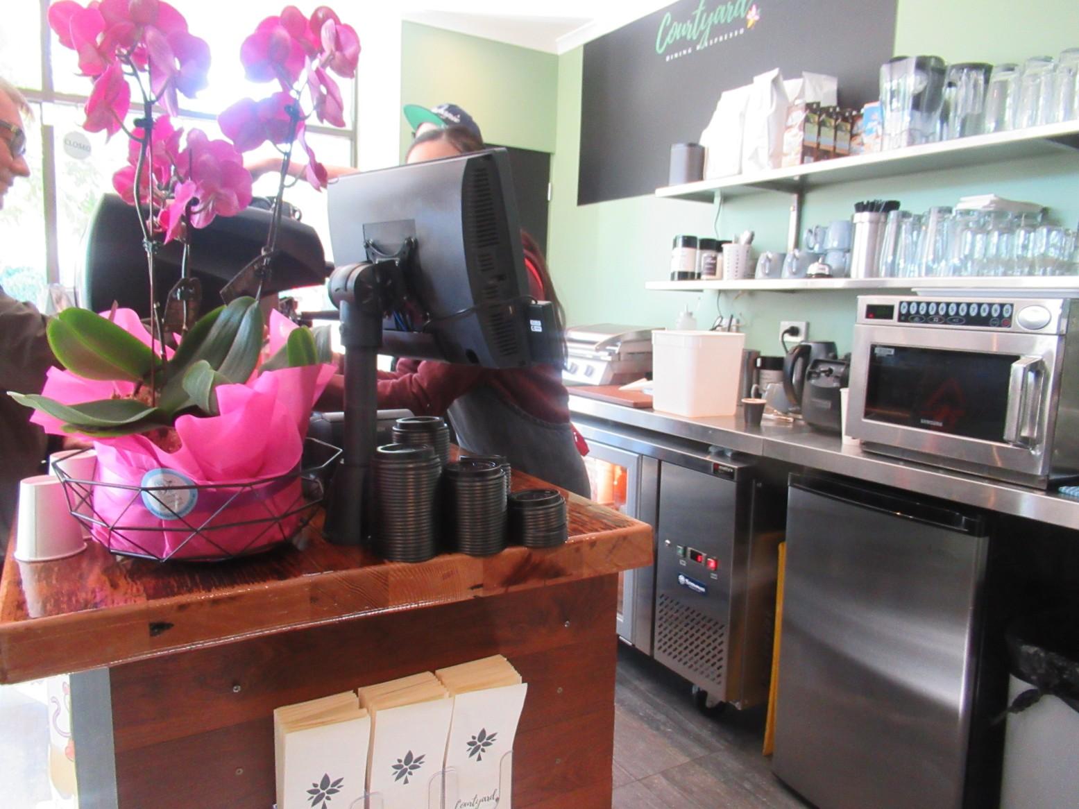 courtyard dining espresso parraparents. Black Bedroom Furniture Sets. Home Design Ideas