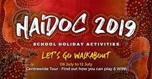 NAIDOC School Holiday Activities   Winston Hills Mall @ Winston Hills Mall   Winston Hills   New South Wales   Australia