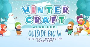 Winter Craft Workshops | Winston Hills Mall @ Winston Hills Mall | Winston Hills | New South Wales | Australia