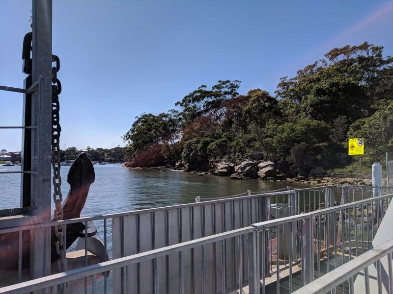 Putney Punt Mortlake Ferry Parramatta River