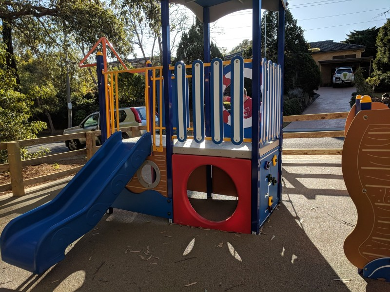 Hunts Creek Reserve East playground Carlingford