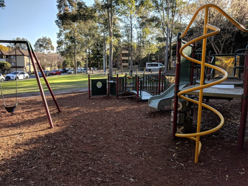 Meehan street park small playground granville