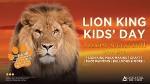 Lion King Kids Day | Castle Hill RSL @ Castle Hill RSL | Castle Hill | New South Wales | Australia