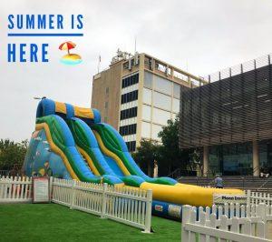 Summer School Holidays - Water Slide | Westpoint Shopping Centre @ Westpoint Shopping Centre, Flushcombe Road entrance | Blacktown | New South Wales | Australia