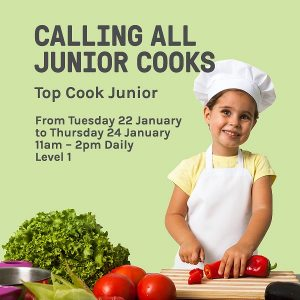 Calling All Junior Cooks | Top Ryde City Shopping Centre @ Top Ryde City Shopping Centre, Level 1 | Ryde | New South Wales | Australia
