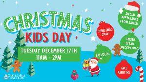 Christmas Kids Day | Castle Hill RSL @ Castle Hill RSL | Castle Hill | New South Wales | Australia