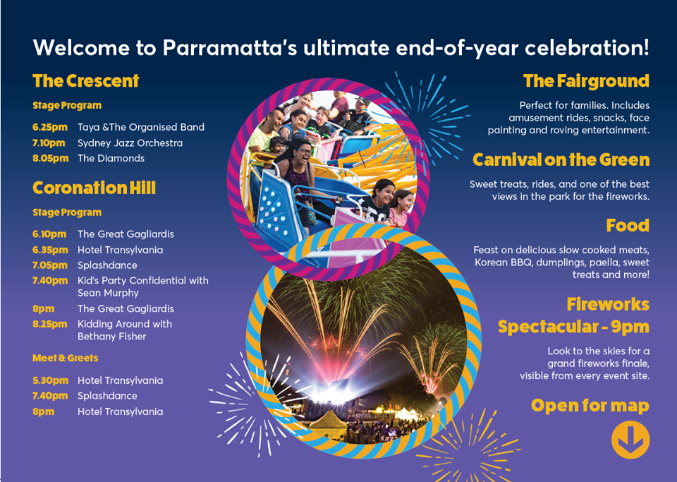 NYE Parramatta's New Year's Eve