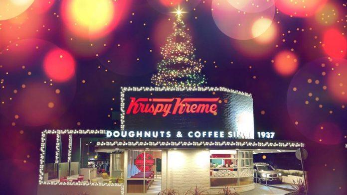 Krispy Kreme Penrith Christmas Lights Opening Night