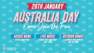 Australia Day Castle Hill RSL @ Castle Hill RSL | Castle Hill | New South Wales | Australia