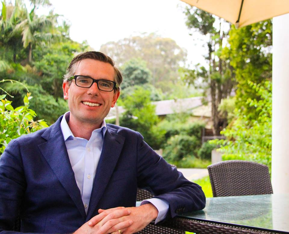 Dominic Perrottet epping electorate