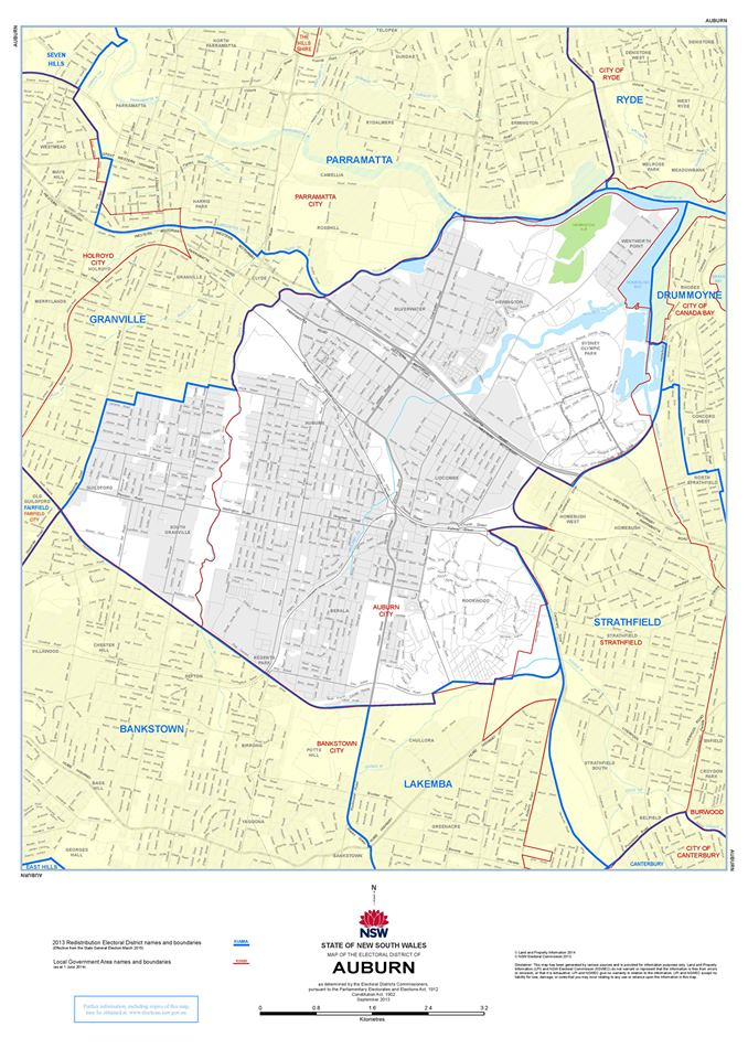 Auburn Electorate