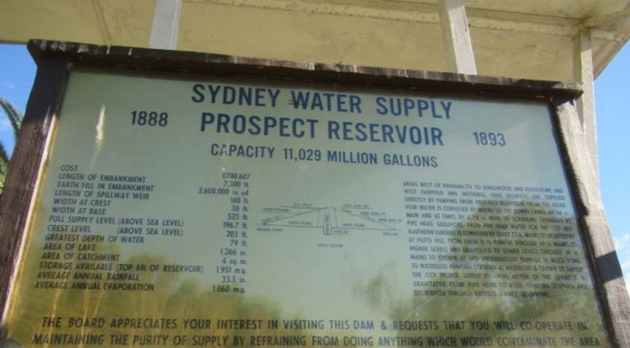 Prospect Reservoir