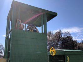 Kookaburra Farmstay playground find the right playground