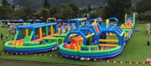 Tuff Nutterz Inflatable Obstacle Course | Castle Hill @ Castle Hill Showgrounds | Castle Hill | New South Wales | Australia