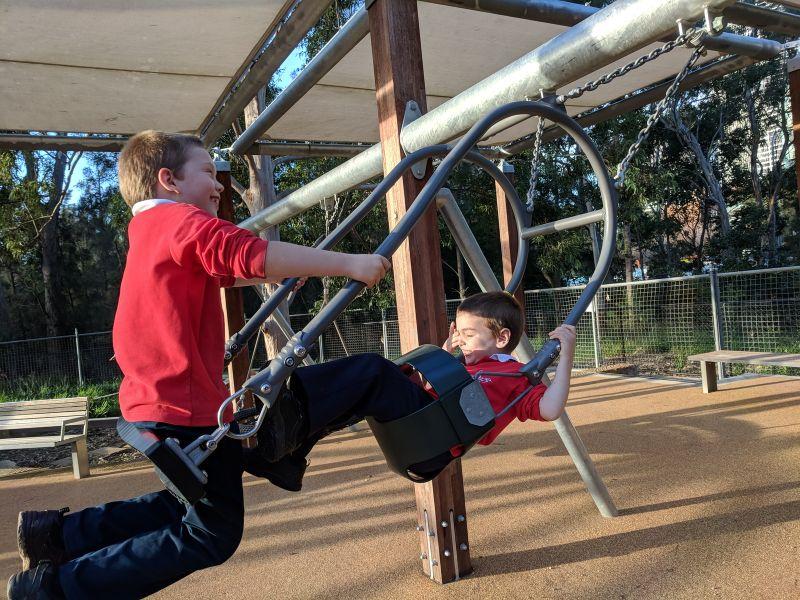 Paperbark Playground Pavilion Flat Parramatta Park