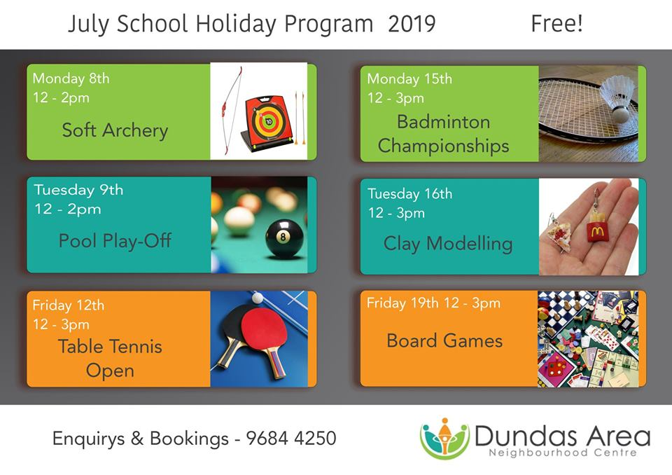 School Holiday Activities | Dundas Neighbourhood Centre