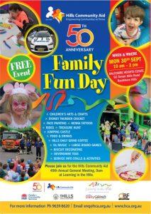 50th Anniversary Family Fun Day | Baulkham Hills @ Balcombe Heights Estate | Baulkham Hills | New South Wales | Australia
