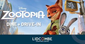 Dine + Drive In With Zootopia | Lidcombe Centre @ Lidcombe Centre | Lidcombe | New South Wales | Australia